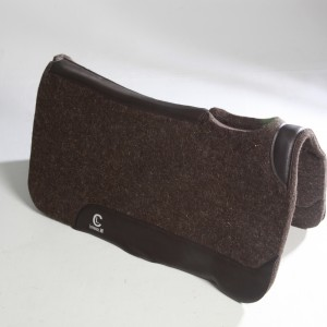 C&L Dark Brown Wool Pad